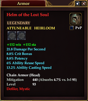 Helm of the Lost Soul