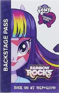 Twilight Sparkle Equestria Girls Rainbow Rocks Backstage pass