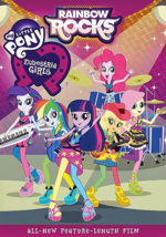 My Little Pony Equestria Girls Rainbow Rocks DVD cover art