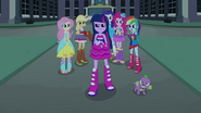 Twilight and Spike make their stand EG