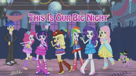 Equestria Girls ''This is Our Big Night'' music video cover
