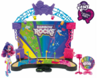 Rainbow Rocks stage and Pinkie Pie playset