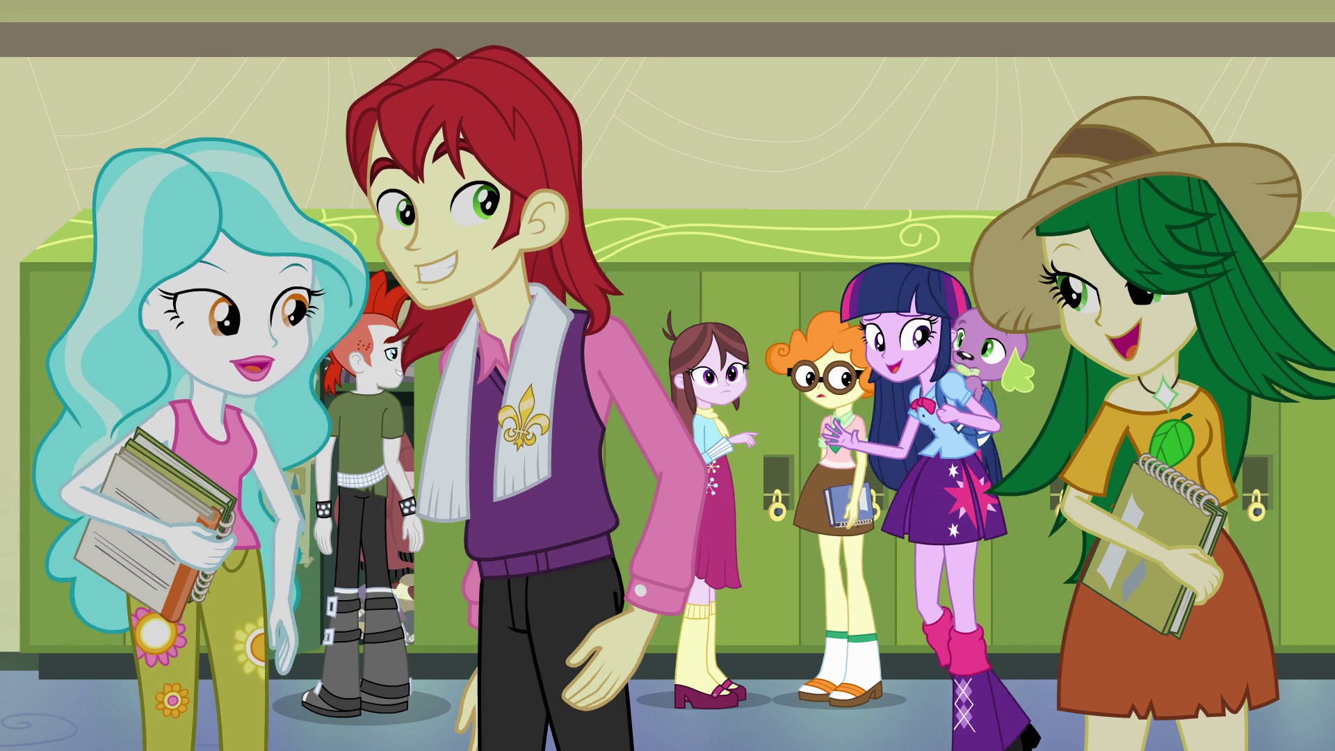 Image - Rainbow and friends laughing S4E21.png | My Little Pony ...