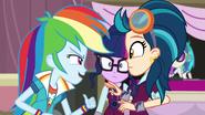 Rainbow gets in Indigo Zap's face EG3