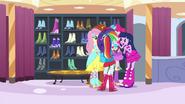 Twilight's friends surround her EG