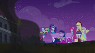 Twilight Sparkle and Spike bewildered EG