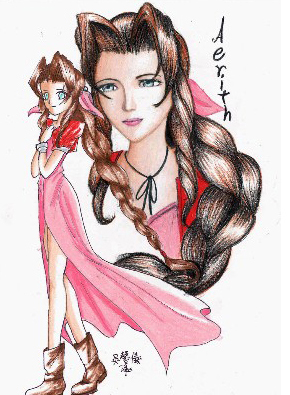 Archivo:Aeris Fan Art.jpg