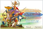 Pantalla de Titulo de Crystal Defenders en Ipod Touch.png