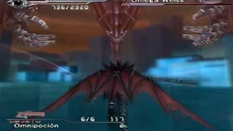 "Final Fantasy VII Dirge of Cerberus ""La Omega arma"" Español parte 3"