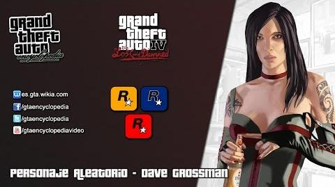 Grand Theft Auto IV The Lost and Damned - Dave Grossman
