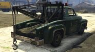Towtruck V Parte Trasera