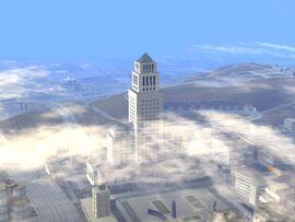 Ayuntamiento visto desde downtown