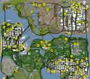 Saltos únicos de Grand Theft Auto: San Andreas