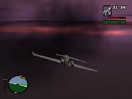 Freefall piloteando el shamal