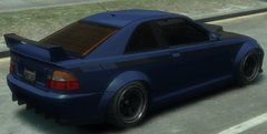 Sultan RS detrás GTA IV