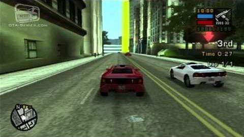 GTA Liberty City Stories - Street Race - Deimos Dash