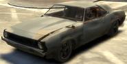 Vigero destruido GTA IV