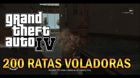 GTA IV - Descubriendo las 200 Ratas Voladoras