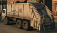 Trashmaster GTA IV Trabajadores atras.