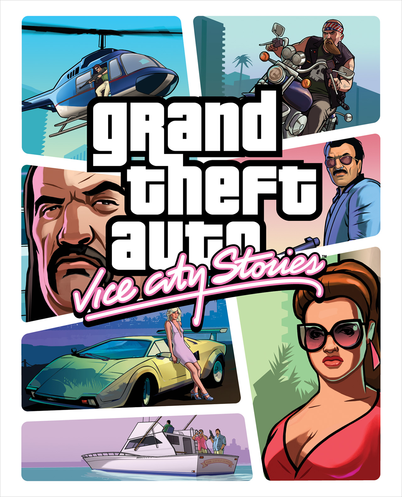 Grand Theft Auto  Vice City Stories on old cb radios