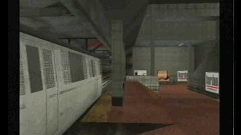 Grand Theft Auto Liberty City Stories (GTA LCS) Liberty City Subway