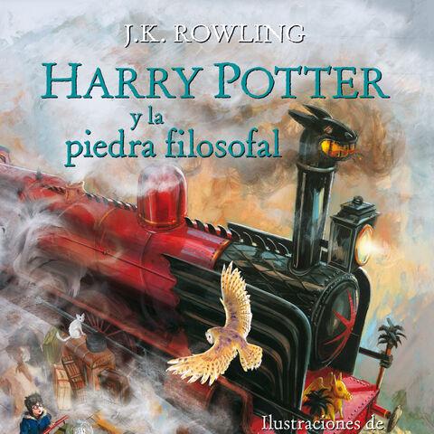 <i>Harry Potter y la piedra filosofal</i> (ilustrado)