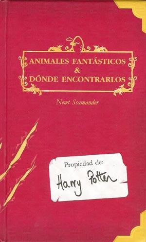 Resultado de imagen de animales fantasticos y donde encontrarlos libro