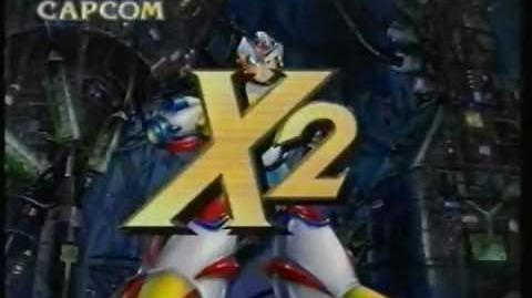 CM カプコン ロックマンX2 (SFC)