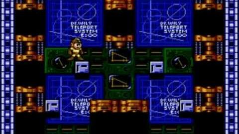 Mega Man The Wily Wars (Mega Man 2) - Wily's Fortress Stage 5