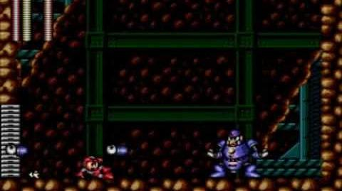 Mega Man The Wily Wars (Mega Man 3) - Hard Man