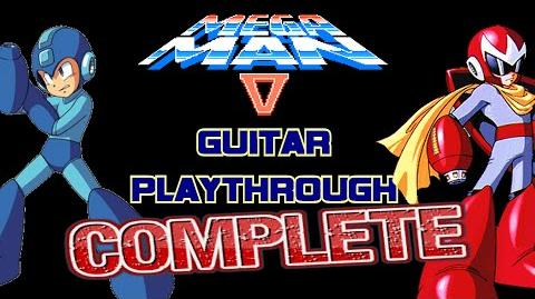 Mega Man 5 Guitar Playthrough