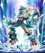 Megaman greiga beast style display