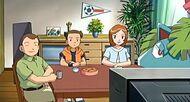 EP458 Jeremy y su familia viendo el Gran Festival de Kanto