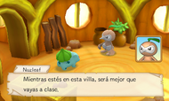 PMMM Cap. 2 Nuzleaf dice que debes ir a clases