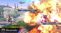 Electrode usando explosión SSB4 Wii U.png