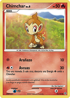 Carta de Chimchar