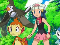 Archivo:EP550 Maya con Chimchar, Staravia y Piplup.png