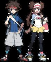 Personajes de B2 y W2