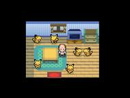 Interior del Club de Fans de Pikachu