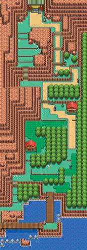 Mapa de la ruta 26