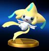 Trofeo de Jirachi SSB4 Wii U.png