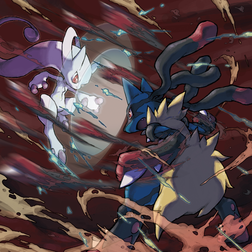 Mega Mewtwo vs Mega Lucario.png