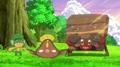 Cilan/Millo junto a sus Pokémon.
