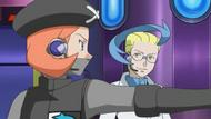 EP774 Angie dirigiendo a los Pokémon