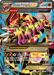 Groudon Primigenio-EX (Duelos Primigenios 151 TCG)
