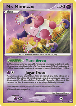 Carta de Mr. Mime