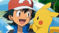 EP809 Pikachu y Ash