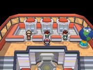 Planta superior del Centro Pokémon NB