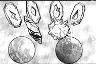 Piedras evolutivas en el manga