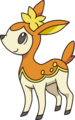 Deerling otoño (anime NB).png